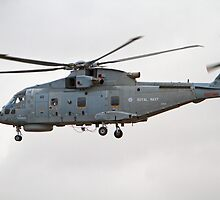 Merlin helicopter by Keith Larby