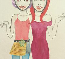Conjoined Vampire Sister by Tiffany Nicole Castro