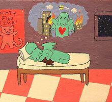 Cthulhu's Dream by Tiffany Nicole Castro