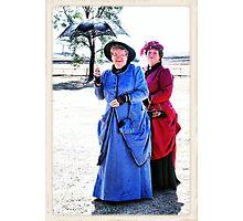 Dedicated Followers of Fashion - 1800s Photographic Print