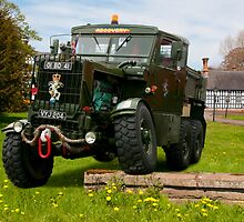 1951 Scammell Explorer 6x6 by David J Knight
