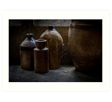 A Little Pottery Collection Art Print
