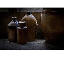 A Little Pottery Collection Photographic Print