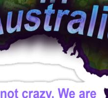 Outrage in Australia! Sticker