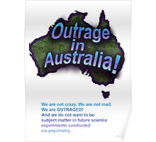 Outrage in Australia! Poster