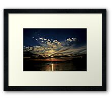 Rota Sunset Heaven Framed Print