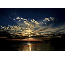 Rota Sunset Heaven Photographic Print