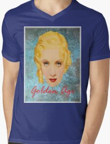 Golden Age Mens V-Neck T-Shirt