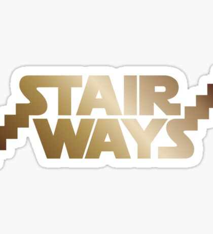 Stair Ways v2 Sticker