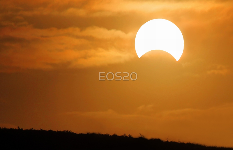Solar Eclipse - May 10 2013  by EOS20