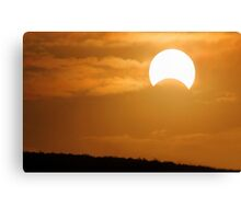 Solar Eclipse - May 10 2013  Canvas Print