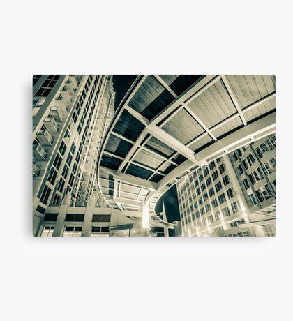 complex architecture Canvas Print