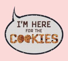 Here for cookies One Piece - Long Sleeve