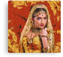 Princess of Spice Canvas Print