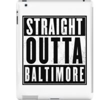 The wire - Baltimore iPad Case/Skin