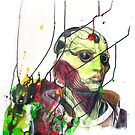 Thane Krios Mass Effect Portrait by quigalchemist