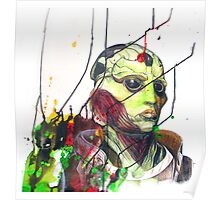 Thane Krios Mass Effect Portrait Poster