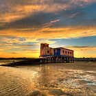 Lifeboat Station Sunset by manateevoyager