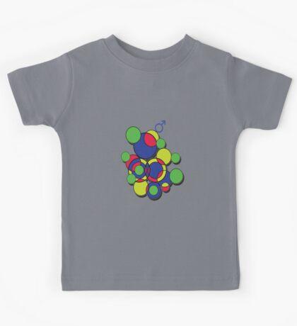 Circles of colour! Kids Tee