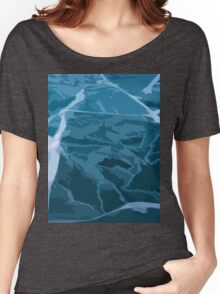 Scattered Ice Women's Relaxed Fit T-Shirt