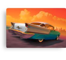 Rocket to Nashville Canvas Print