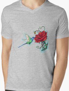 Mother's Nature Rose (Redbubble Challenge Entry) Mens V-Neck T-Shirt