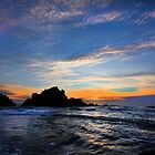 Big Sur sunset  by Dave Hare