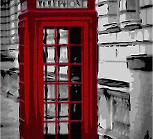 Red Phonebox (03) by Paul Stevens