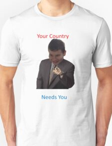 Your Country Needs You Phillip Style Unisex T-Shirt