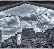 Sandsfoot Castle. by Alexis Pond