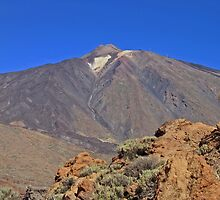 Mount Teide Tenerife by Avril Harris
