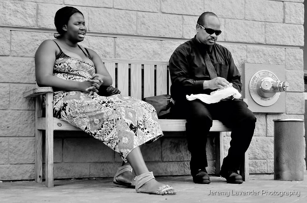 Lunch Time in Nassau, The Bahamas by Jeremy Lavender Photography