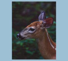 Fawn - White-tailed Deer Kids Tee