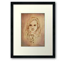 Hermione Framed Print
