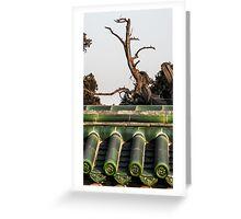 beijing -china 1 Greeting Card