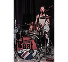 Jimmy Beat in concert 3 Photographic Print