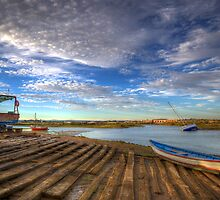 Boatyard Slipway by manateevoyager