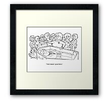 """Typical"" Framed Print"
