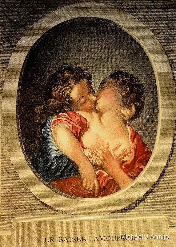 French Kiss by Michael J Armijo