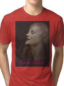Silent Actress Tri-blend T-Shirt