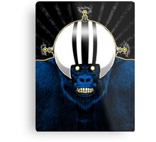 SPACE GORILLA Metal Print