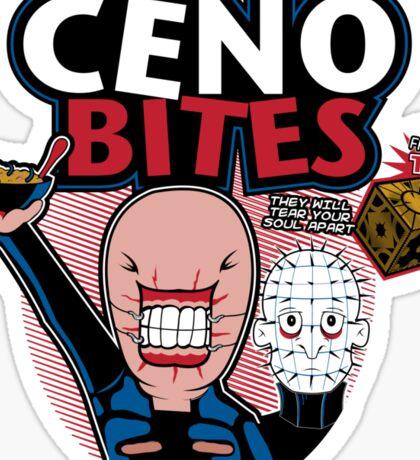 Ceno-bites Sticker