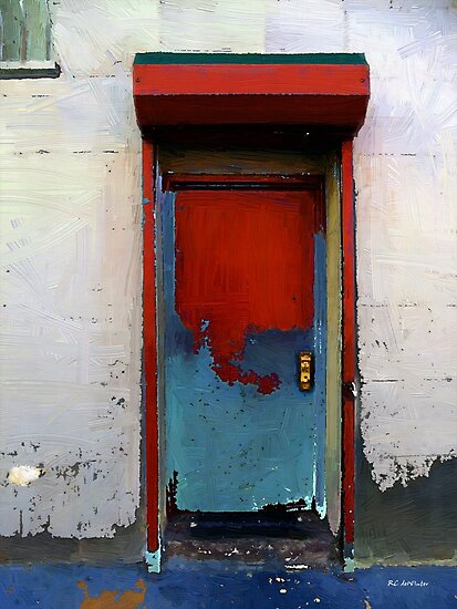Locked Door, Hell's Kitchen by RC deWinter
