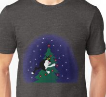 Xmas mischief: for the love of trees! Unisex T-Shirt