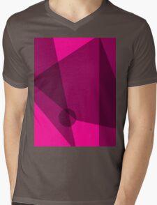 Rosy Dawn Mens V-Neck T-Shirt