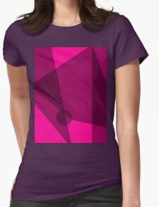 Rosy Dawn Womens Fitted T-Shirt