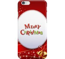 Merry Chrismas Red iPhone Case ,Casing 4 4s 5 5s 5c 6 6plus Case - Merry Chrismas Red Samsung case s3 s4 s5 iPhone Case/Skin