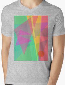 Soft Light Mens V-Neck T-Shirt