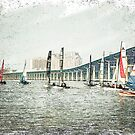 Sailboats Sketch Photo by Jonicool