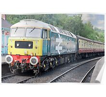 Class 47 #47580 County of Essex Poster